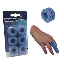 Twin envases tipo blister con 12 Azul Catering Steroplast dedo Bob apósitos Tubular