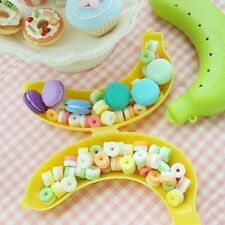 Cute Lunch Fruit Banana Guard Storage Box Protector Container Outdoor Trip