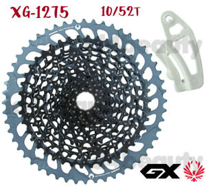 SRAM GX EAGLE 12speed XG-1275 10/52T Black Cassette 00.2418.109.000