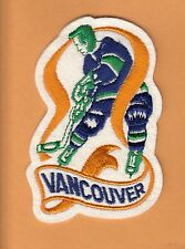 OLD VANCOUVER CANUCKS PLAYER JERSEY PATCH Unsold Stock