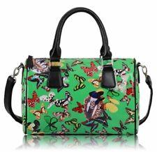 Green Butterfly Satchel / Handbag Shoulder Bag