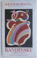 Wassily Kandinsky 'Red Form', Lithograph Printer Maeght, Bauhaus Artist Abstract