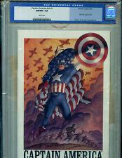 Captain America v4 #1 CGC 9.8 Marvel DF Ltd ED COA  Amricons K21