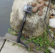 Estrazione installabile SELFIE-Stick/einbein TREPPIEDE per GOPRO 4 3 2 1 e fotocamera digitale