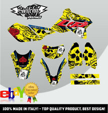 KIT ADESIVI GRAFICHE ACE OF SPADES 2.0 YELLOW SUZUKI DR-Z 400 SM DRZ DECALS