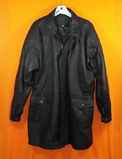 """Men's """"Italy"""" Leather Jacket - Heavy - Lined and Insulate - Black - XL - EUC"""