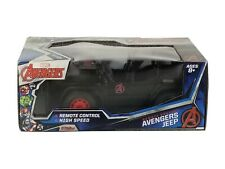 NEW Marvel Avengers Remote Controled High Speed Black Red Avengers Jeep 27Mhz RC