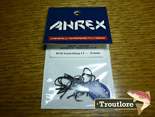 18 x AHREX NS150 #6 NORDIC SALT CURVED SHRIMP HOOKS NEW FLY TYING MATERIALS