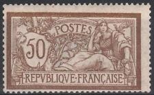 """FRANCE STAMP TIMBRE N° 120 """" TYPE MERSON 50c  BRUN ET GRIS """" NEUF xx TB  M197"""
