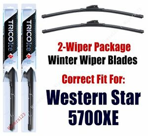 WINTER Wipers 2-Pack fits 2016+ Western Star 5700XE - 35200x2