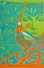 Yardbirds, Doors 1967 Fillmore West Poster 21 x 32 ~ $48.95 NM- cond. 5th Print