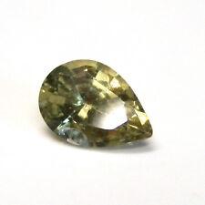 Australian yellow sapphire gemstone...0.97 Carat