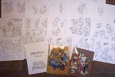 Alice In Wonderland Animators' Model Sheets Hanna Barbera Artist Reference Guide