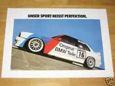 BMW M3 E30 POSTER 5 - PERFEKTION M POWER EVO - DIN A1 RARE VINTAGE IN MINT NEU