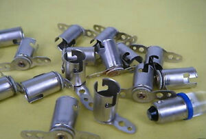 5pcs BA9S,257,363,1445,64111 LED Bulb Light Socket Fixture Holder