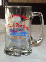 VINTAGE 1934-1985 MARIAVILLE  NY VOLUNTEER FIRE DEPT BUSH WACKERS  GLASS  MUG