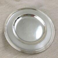 Christofle Silber Platte Ladegerät Vorlage Platte Platzteller Antik Französisch