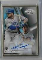 2018 Topps Gold Label Baseball Framed Autograph Victor Caratini RC FA-VC
