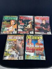 Modern Drummer Magazine 1999 Lot of 5 Matt Chamberlain David Silveria