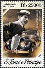 LOUIS RENAULT & NERVASTELLA Car Automobile Stamp/2014 St Thomas & Prince Islands