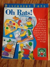 Discovery Toys Oh Rats! Puzzle Game Speech Occupational Therapy