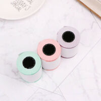 Pocket Bluetooth Printer Photo Label Printer Thermal Paper Roll FEH