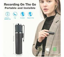 Bluetooth Microphone,Wireless Lapel Clip-on Mic,Vlogger Reduction/Auto Sync