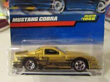 Hot Wheels Mustang Cobra #1066 Gold