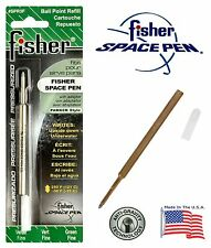 One (1) Fisher Space Pen SPR Series Green Ink / Fine Point Refill #SPR3F
