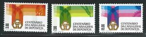Portugal Stamps | CGD 100 years Issue | 1976 | #1302-1304 MNH