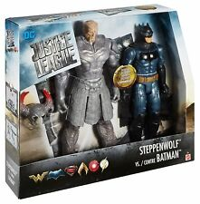 DC Justice League Batman vs Steppenwolf Action Figure Set 12 Inch 2 Pack Toy New