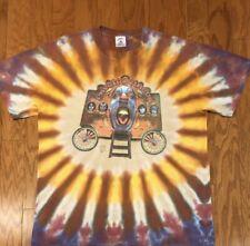 Great Condition Vintage 1998 KISS Psycho-Circus Tie Dye T-Shirt sz L