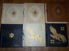RARE WWII Scrapbook Newspaper Collection 1942-1946 Everyday Chronicled 6 vols.