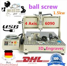 1500W USB 4Assi 6090 CNC Router 3d Fresatrice Metallo Macchina per Incisione VFD