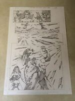 GRIMM FAIRY TALES original art KILLS CREEPY VAMPIRE MONSTER, halloween special