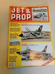 JET & PROP  1/08  Februar/März 2008 Flugzeuge von Gestern und Heute im Orginal