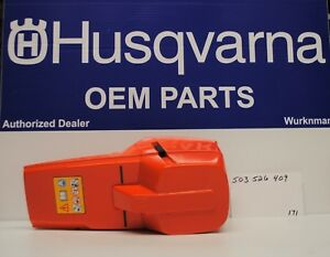 Genuine OEM 503526409  HUSQVARNA CYLINDER COVER FITS 394 395 CHAINSAWS