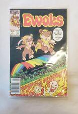 Ewoks comic book Vol. 1 No. 1 Near Mint Ewoks #1