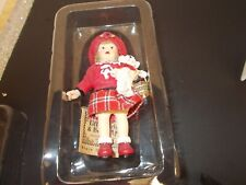 Little Girls & Boyd Ornament, Jill With Tumbles , Box & Tag