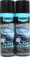 2 Simoniz 19 Oz Sure Shine Ammonia & Streak Free Removes Bug Grime Glass Cleaner