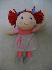 """HABA MADE IN GERMANY SOFT PLUSH 8 1/2"""" GERMAN BABY DOLL"""