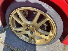 Subaru V7 Sti Alloy Wheels