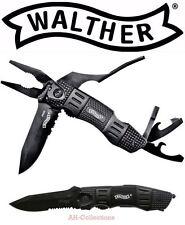 Walther MTK multitacknife PINZA COMBINATA Bitset vetro frantumatori Apriscatole Multitool
