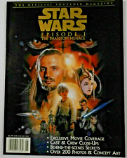 Star Wars: Episode 1, The Phantom Menace. (The Souvenir Magazine) -1999