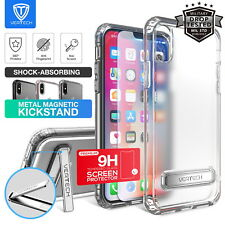 iPhone X Xs Case Cover, Vertech Slim Hybrid ShockProof Kickstand Cover For Apple