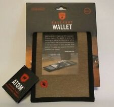 Grand Trunk ATOM Collection Passport Wallet w/RFID Security Strip, Sahara - New