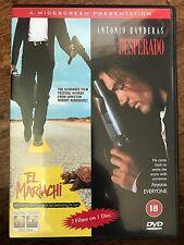 Antonio Banderas Salma Hayek EL MARIACHI / DESPERADO ~ UK Action Double Bill DVD