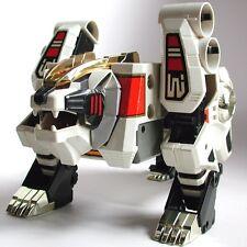 Mighty Morphin Power Rangers Deluxe White Tigerzord Megazord BONUS Thunderzord