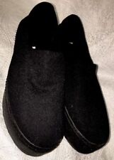 Opening ceremony shoe black stretchy slip on flat size 6