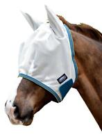 Weatherbeeta Comfitec Airflow Fly Mask with Ears and Wide Touch Tape Closure